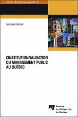 L' institutionnalisation du management public au Québec