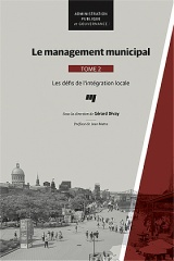Le management municipal, Tome 2